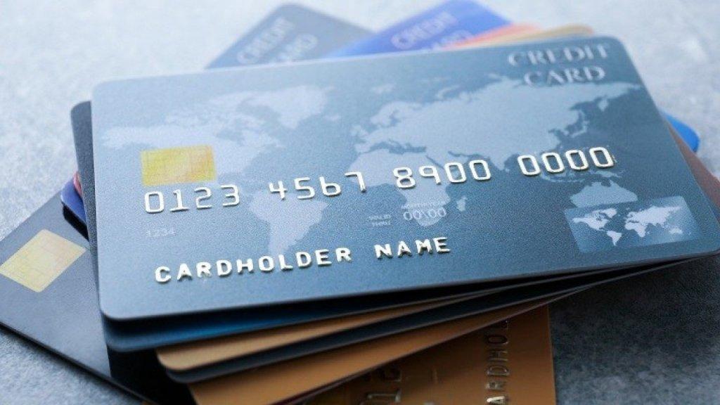 Olika sorters kreditkort