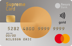 Supreme Card Gold kreditkort
